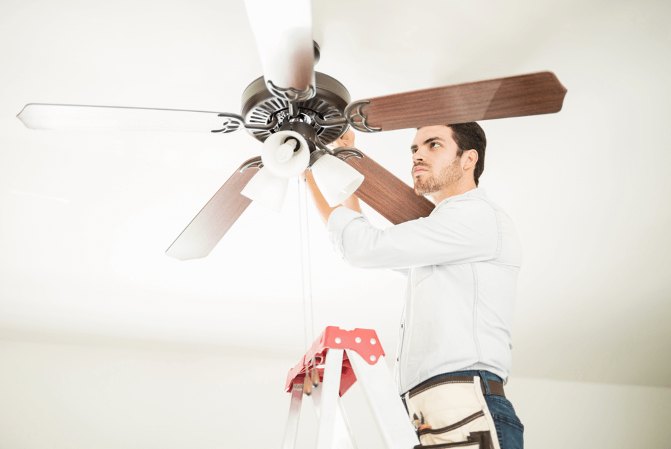 Ceiling Fan installation and fitting
